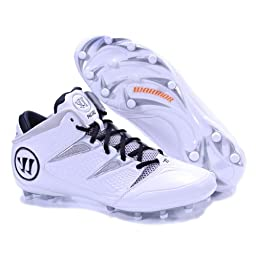NEROWT BY WARRIOR NEW ADULT MENS LACROSSE WHITE GRAY US MENS 6.5D
