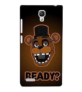 Fuson 3D Designer Back Case Cover For Xiaomi Redmi Note / Redmi Note 4 / Redmi Note 4G