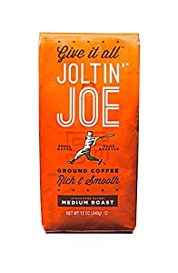 Best Ground Coffee - Joltin' Joe Medium Roast - Fresh and Hand-Roasted 12 Ounce Bag