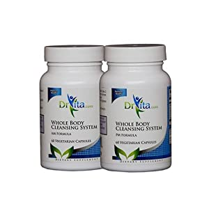 DrVita Whole Body Cleansing System AM/PM - 60 Vegicaps