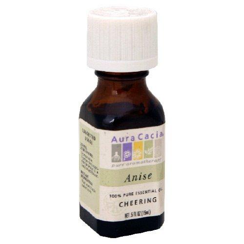 Aura Cacia Essential Oil Anise Seed 0.5 oz Liquid