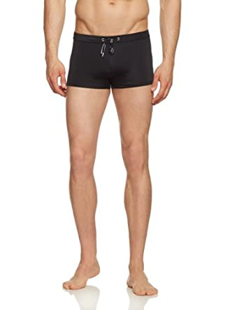 Bruno Banani Men's Trunks - Black - Schwarz (schwarz) - Small