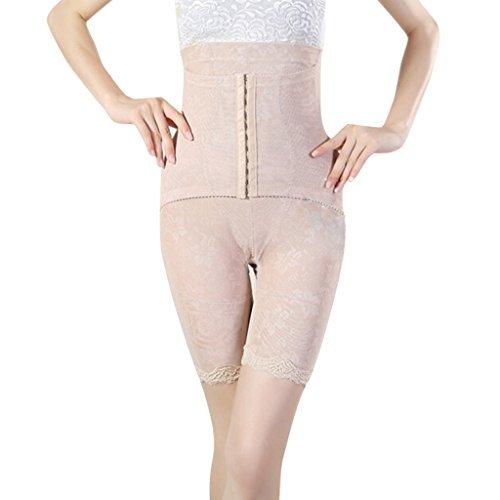 Burvogue Damen Hohe Taille Oberschenkel Eng Shaperwear Tummy Control Body Shaper