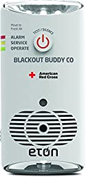 American Red Cross Blackout Buddy CO The amazing, alarming, three-in-one carbon monoxide (CO) alarm, flashlight and nightlight, ARCBBCO10W-SNG