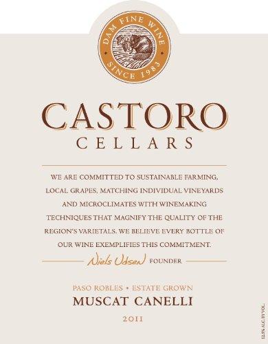 2013 Castoro Cellars Paso Robles Estate Muscat Canelli 750Ml