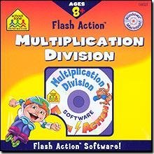 School Zone Flash Action Multiplication & Division
