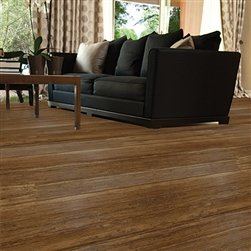 "Home Legend Strand Woven 5"" Bamboo Flooring Coffee Premium Sample"