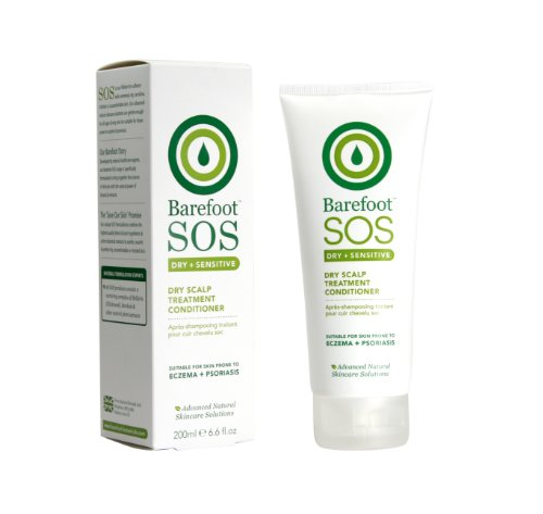 Barefoot Botanicals S.O.S Intensive Care Dry Scalp Conditioner 200Ml