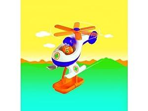 Playmobil - 6738 - 1.2.3 - Pilote / Hélicoptère de sauvetage