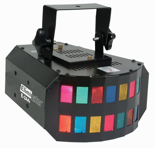 Eliminator E-144 Pirahna Mini Double Derby Special Effects Light