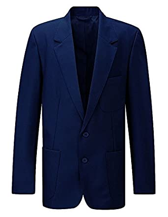 Blue Max Ziggys Boys Zip Entry Blazer Academy Navy 22