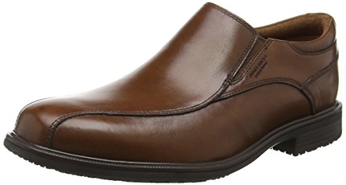 RockportEssential Details Ii Bike Toe - Mocassini uomo , marrone (Brown (Tan Antique Leather)), 42.5