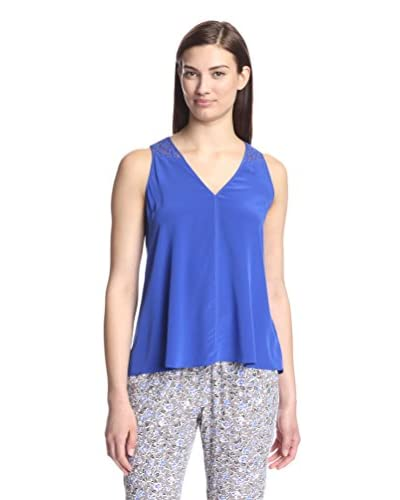 Rebecca Taylor Women's Top with Lace Back