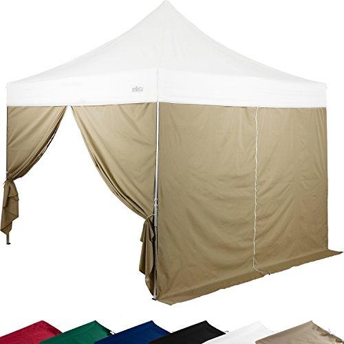 stilista 2x seitenteile f r 3x3 m pavillon mit. Black Bedroom Furniture Sets. Home Design Ideas