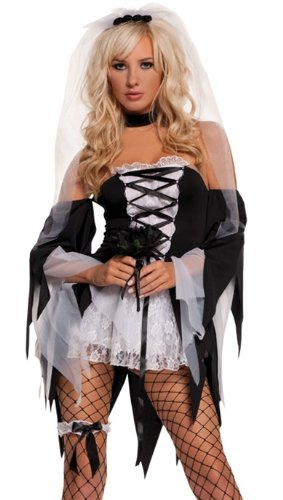 Discount Diane Tawed Dead Bride Costume