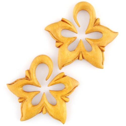 Pair of Tewel Wood La Estrellas: 7/16