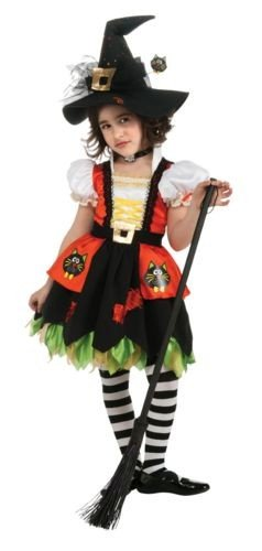 Kitty Witch Kids Costume
