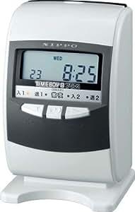 ニッポー 電子タイムレコーダー タイムボーイ8プラス グレー