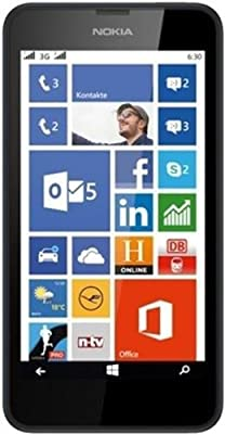 Refurbished Nokia Lumia 630 (Black, 8GB)
