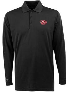 Arizona Diamondbacks Long Sleeve Polo Shirt (Team Color) by Antigua