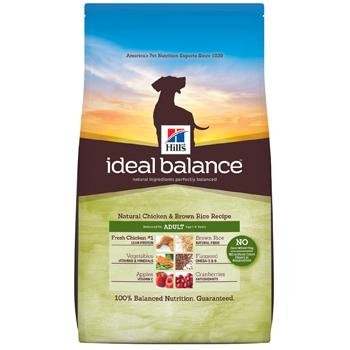 Hill's Ideal Balance Chicken & Brown Rice Adult Dog Food, 30 lbs.