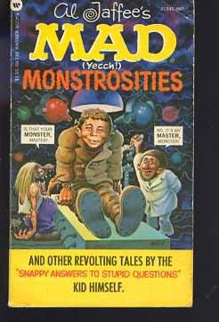 Al Jaffee's Mad (Yecch!) Monstrosities, Al Jaffee