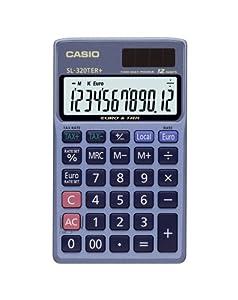 Casio SL320TER Pocket Calculator