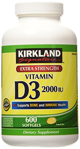 Kirkland Signature Extra Strength Vitamin D3 2000 I.U
