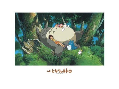 Jigsaw puzzle my Neighbor Totoro Totoro and ohirune 500-247