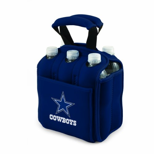 NFL Dallas Cowboys Six Pack Cooler Tote (Cowboys Cooler Tote compare prices)
