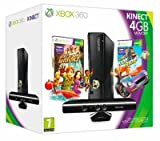 Xbox 360 4GB mit Kinect Sensor, Kinect Adventures+KinectJoyR