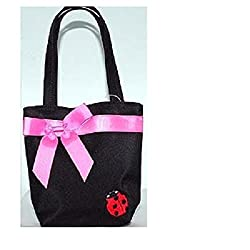 Kids Mini-Purse Black Ladybug