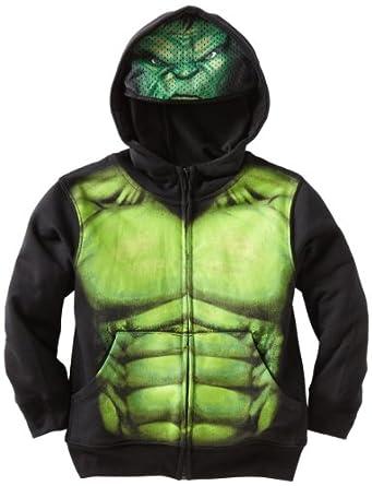 amazoncom marvel little boys hulk full zip hoodie