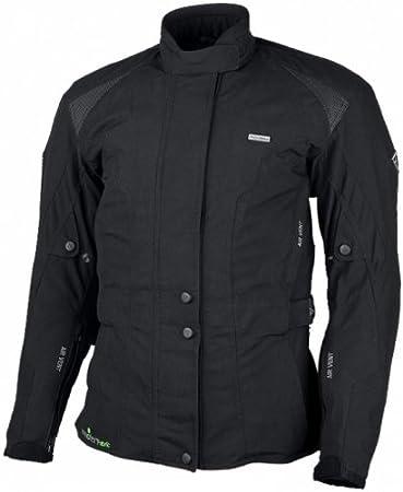MODEKA *veste de moto pour femme noir taille 40
