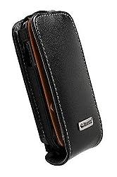 Krusell Orbit Flex Leather Case with Ratchet Swivelkit for Samsung Gravity 2 T469 - Black