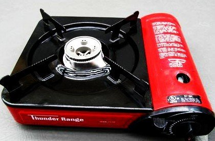 Thunder Range Ci-153 Portable Gas Stove With Carry Case