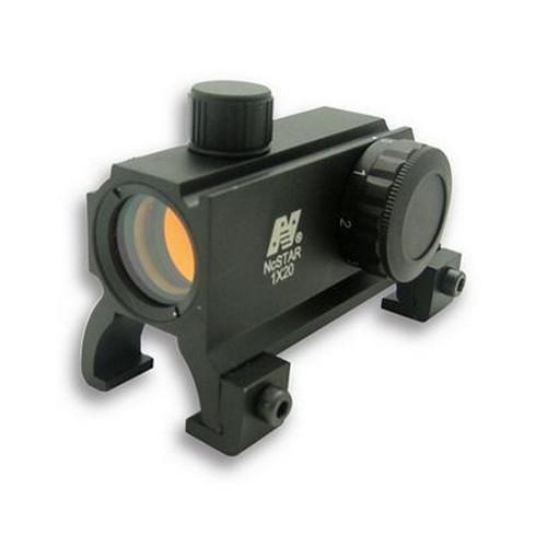 RG Duplex Reticle w Picatinny Carry Handle Mounts Sniper® 4x20 Tactical Scope