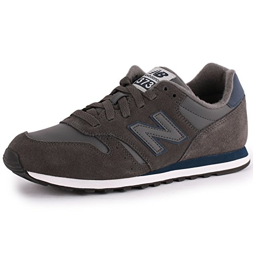 New Balance 373 Mens Suede & Textile Trainers Grey 10.5 Us