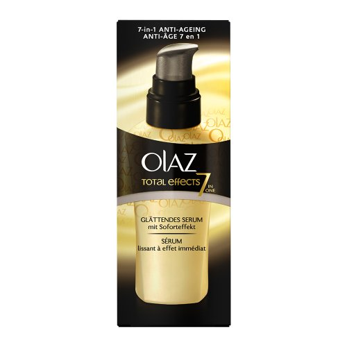 Olaz Total Effects Glättendes Serum mit Soforteffekt,  50ml