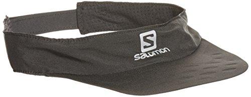 Salomon cappellino corsa Cap Race Visor, Black, One Size, l37930600