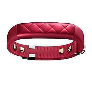 Jawbone UP3 Bluetooth Aktivitäts-/Schlaftracker-Armband (für Apple iOS und Android) red cross