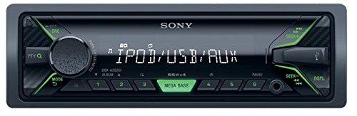 Sony-DSX-A202UI-Mechaless-Autoradio-USB-AUX-Anschluss-MP3WMAFLAC-Apple-iPodiPhone-Control-Funktion-schwarz
