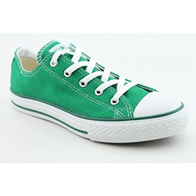 Amazon.com: Converse All Star Lo Top Green Little kids 2.5: Shoes