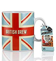 Ceramic Mod Man Union Jack Giant Mug