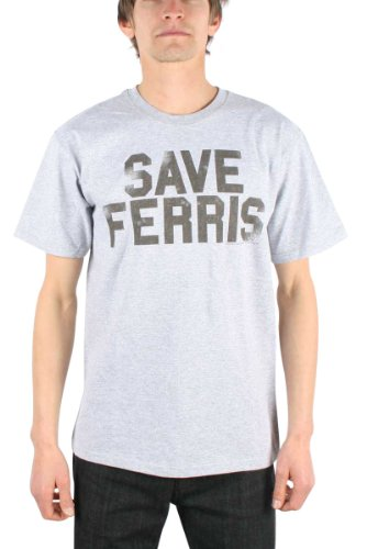 Save Ferris 80's Movie Distressed Men's T-shirt.. S to XXXL.