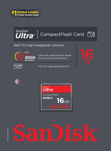 SanDisk Ultra 16GB CF Memory Card