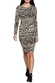 Animal Print Bodycon Dress [T69-2303J-S]
