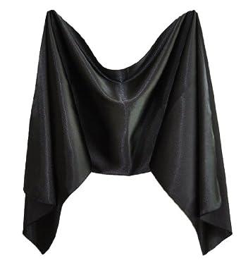 damen stola schal satin passend zum abendkleid schwarz 45. Black Bedroom Furniture Sets. Home Design Ideas