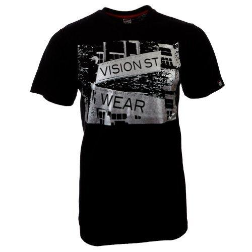 Vision Street Wear Street T-Shirt , schwarz