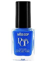 Miss Cop Vernis à Ongles Pop Nails Electrique 12 ml - Lot de 2